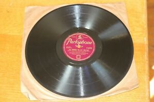 GERALDO-78-rpm-10-034-Parlaphone-Record-All-Through-The-Day-In-Love-In-Vain-1946