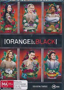 Orange-Is-The-New-Black-Season-Three-3-DVD-NEW-third-Season-Region-4-PAL