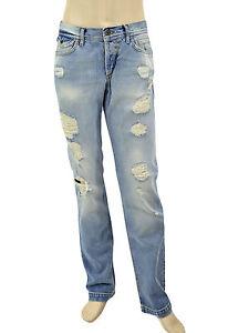 e0c7ffb3ec $295 DOLCE & GABBANA Blue Distressed POWER Men's Denim D&G Jeans NEW ...