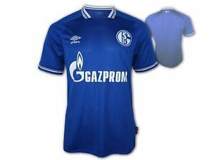 Umbro-Schalke-04-Heim-Trikot-20-21-S04-Home-Jersey-Fan-Shirt-Bundesliga-Gr-S-3XL