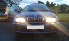 BMW 318Ci E46 Coupe 01 M43 Motor O/S Derecho ruptura Para Repuestos N/S Izquierdo De Cuero