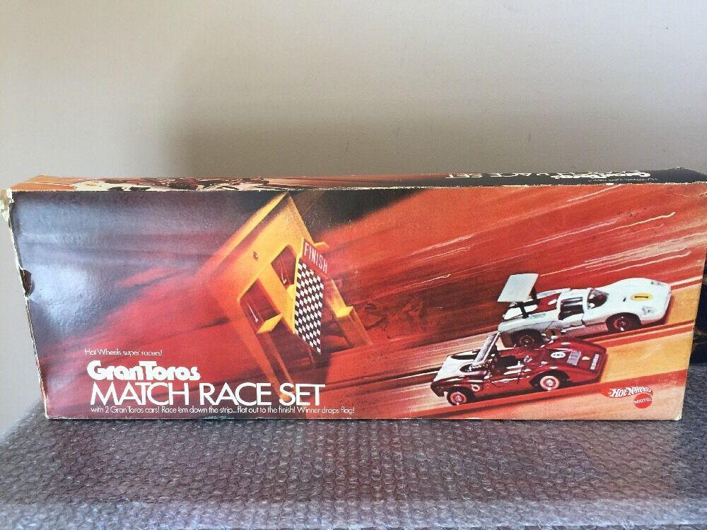 Vintage 1970 Hot Wheels GranTgolds Match Race Set Factory Sealed Super Rare