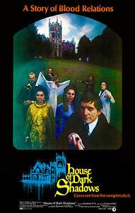 House Of Dark Shadows 1970 Movie Poster Ebay