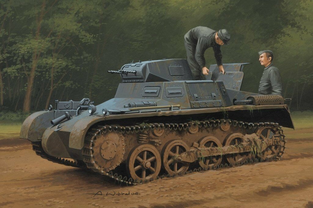Hobby Boss 1 35 German Pz.Kpfw.I Ausf.A Sd.Kfz.101 Early Late Version