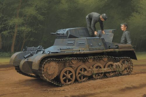 Hobby Boss 1//35 #80145 German Pz.Kpfw.I Ausf.A Sd.Kfz.101 Early//Late Version