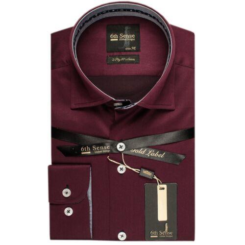 Senso 6th New York Camicia Da Uomo Cotone Di Lusso