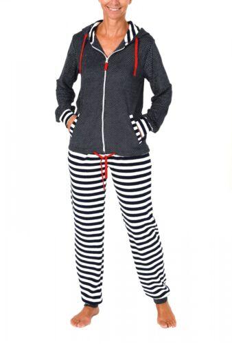 Damen Frottee Hausanzug ideal auch als Homewear auch in Übergrössen 216 93 200