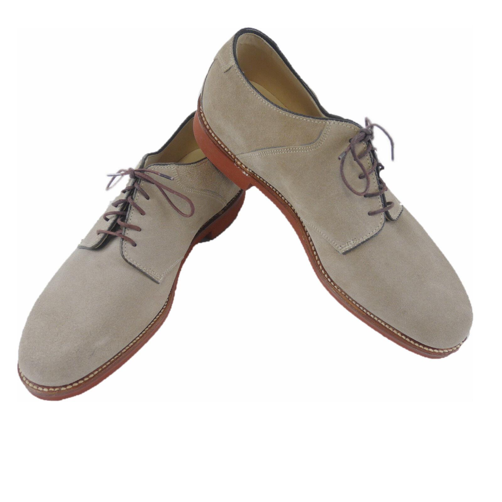 Alden Men's shoes Velour Beige Us Sizes (Previously