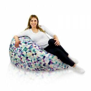 Poltrona Sacco 3d.Dettagli Su Pouf Poltrona Sacco 3d Bambini Tessuto Morbido Sfoderabile Beanbag Sitzsack