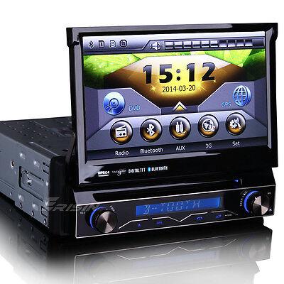 Autoradio DVD Player Abnehmbarer 3G GPS Navi Bluetooth RDS DVR USB SD AUX 1088GD