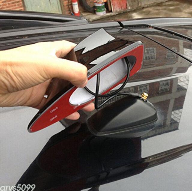 Black Shark Car Body FM//AM Antenna Aerial Radio Replacement Signal Fin Shape