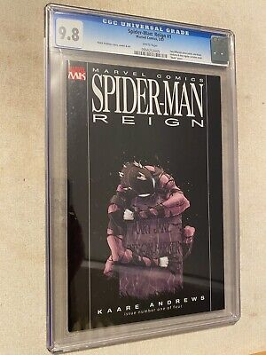 Marvel Spider-Man Reign #1 (NM) Black Costume Recalled