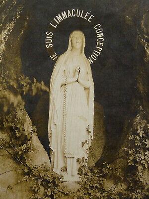 Eerlijkheid Photo De La Sainte Vierge Marie L'immaculée Conception Tirage Argentique Ancien Om Een Gevoel Op Gemak En Energiek Te Maken