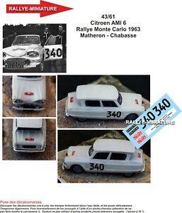Citroen Ami 6-1963 1:43