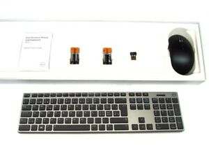 DELL-KM717-Premier-Wireless-Cordless-Keyboard-amp-WM527-Mouse-Set-SWISS-QWERTZ-Ref