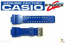 CASIO GA-110HC-2 G-Shock Original Blue Glossy Rubber Watch Band Strap
