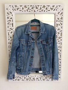 Uk 80's Blue 12 Levis Vintage Jacket Classic Denim Size qSBYgdYx