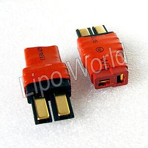 Traxxas-Stecker-auf-Deans-T-Buchse-Hochvoltstecker-Adapter-Lade-Kabel-LiPo-Akku