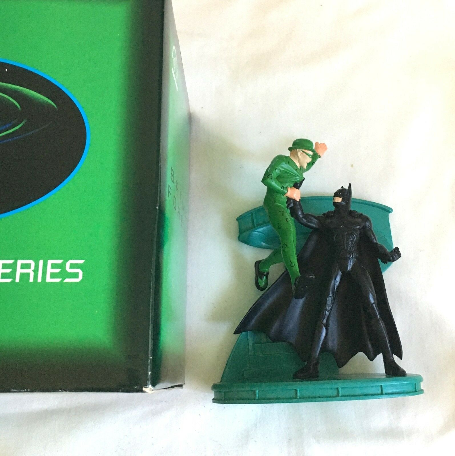 Batman Forever and the Riddler Statue  2826/5000 Cold-Cast Applause Inc 1995 NIB