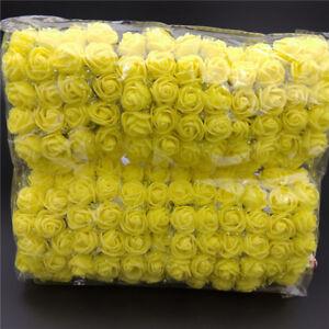 144Pcs Foam Mini Roses Artificial Flower Wedding Home Party Decoration DIY