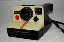 Polaroid Rainbow OneStep SX-70 fixed focus,gremlin uses impossible film, tested