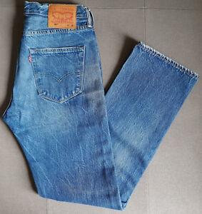 Herren-Jeans-LEVIS-LEVI-S-501-Original-Fit-00501-2381-Balboa-Strong-W32-L32