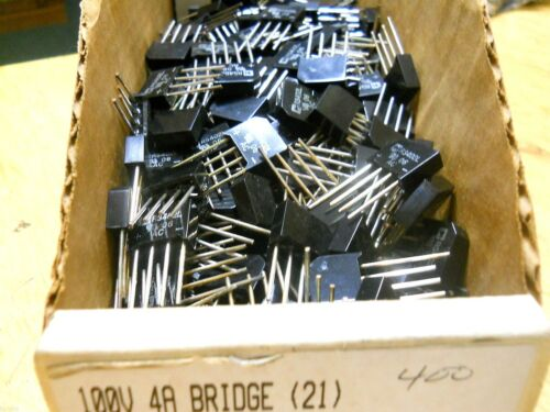 QTY 10 ea RS402L 100 Volt 4 Amp Bridge Rectifier N66