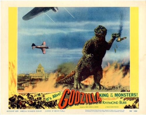 "Godzilla Movie Poster Replica 14 x 11/"" Photo Print"