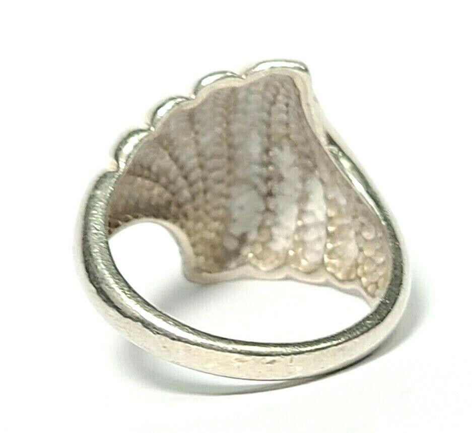 Sterling Silver Minimalist Brooch Swirl Curve Simple 925 Jewelry Mexico