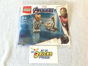 LEGO Super Heroes Polybag 30452 Iron Man & Dum-e New//hard to Find