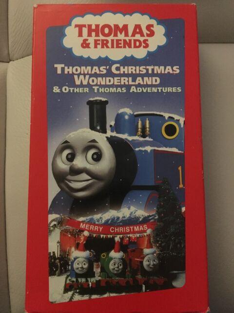 Thomas Christmas Wonderland Vhs.Thomas The Tank Engine Thomas Christmas Wonderland Vhs 2000