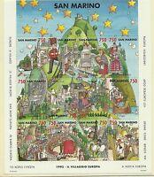 CEPT-Mitläufer 1993/ San Marino MiNr Block 17 **