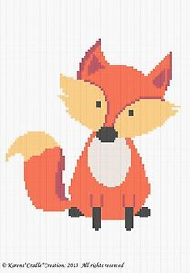 Crochet-Patterns-FOX-Woodland-Baby-Afghan-Pattern-EASY