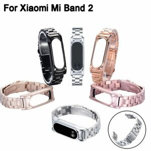 Stainless-Steel-Smart-Watch-Band-Strap-Metal-Wrist-Bracelet-For-Xiaomi-Mi-Band-2