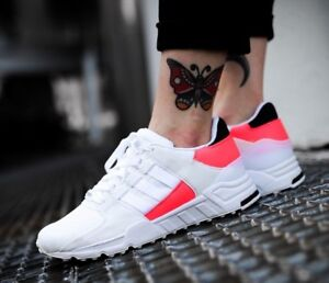 buy popular 3983f 77aeb Details about New ADIDAS EQT Support RF Camo Sneaker Mens white pink all  sizes