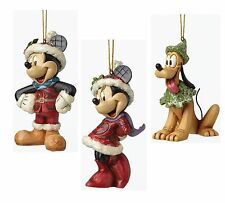 Minnie Mouse Mickey Mouse & Pluto Hanging Ornaments G27635