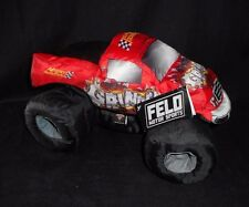 GRINDER RED NYLON MONSTER JAM TRUCK ADVANCE AUTO PARTS STUFFED ANIMAL PLUSH TOY