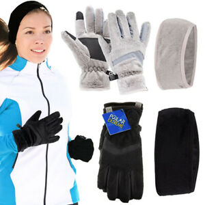 Polar-Extreme-Womens-Touchscreen-Gloves-And-Headband-Set-For-Texting-Smartphone