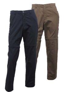 """Regatta Crossfell II Mens Water Repellent Zip Off Trousers Parchment 36""""W x 33""""L"""