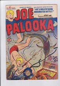 Joe-Palooka-47-Aug-1950-Harvey-Comics-Swordfish-Deep-Sea-Diver-Harpoon