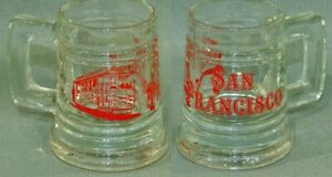 Vintage-San-Francisco-Street-Car-1-OZ-Mini-Mug-Shot-Glass-5121