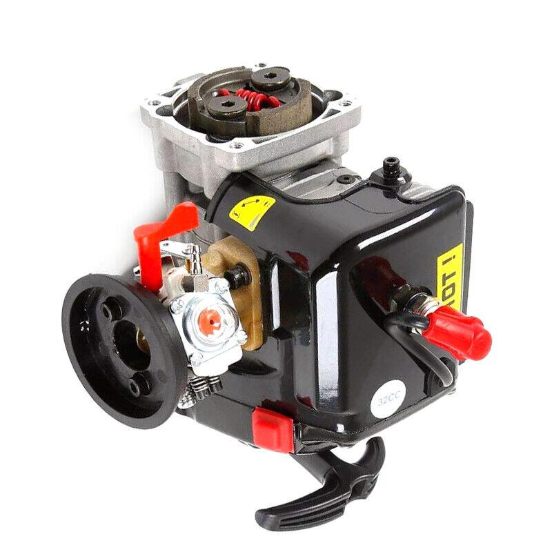 32cc 4 Pernos 7000 RPM Motor de Gasolina Apto Para rojocat HPI Rovan Baja LOSI RC COCHE