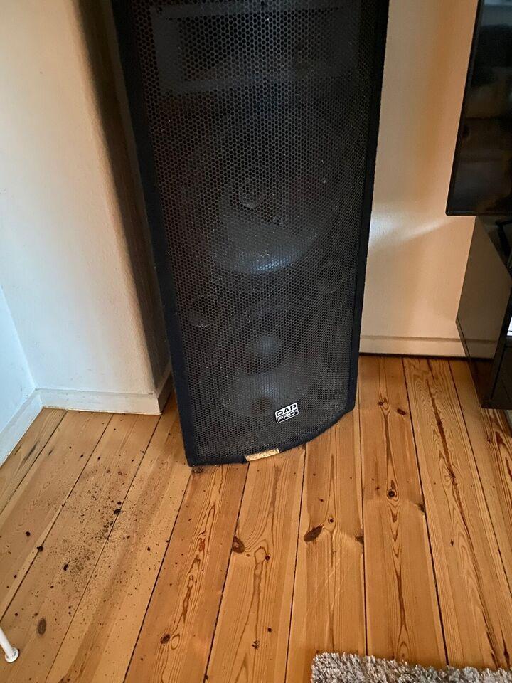 Højttaler, DAP Audio, Diskotek's anlæg