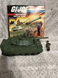 MOBAT Motorized Battle Tank w/ Box GI Joe 1982 Hasbro Action Vehicle Vintage