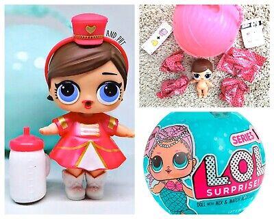 RETIRED ORIGINAL LOL Surprise Dolls Series 2 Lil Sister Heartbreaker Napping