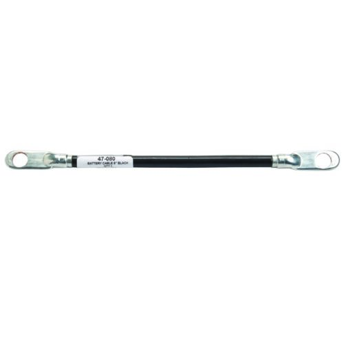 8in. Genuine Oregon  Battery Cable Black Part# 47-080