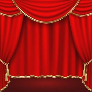 Image Is Loading 6x6FT Stage Scene Photography Background Red Curtain Studio