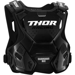 Thor-Youth-Guardian-Mx-Children-039-s-Chest-Armour-Body-Protection-Grey-Black