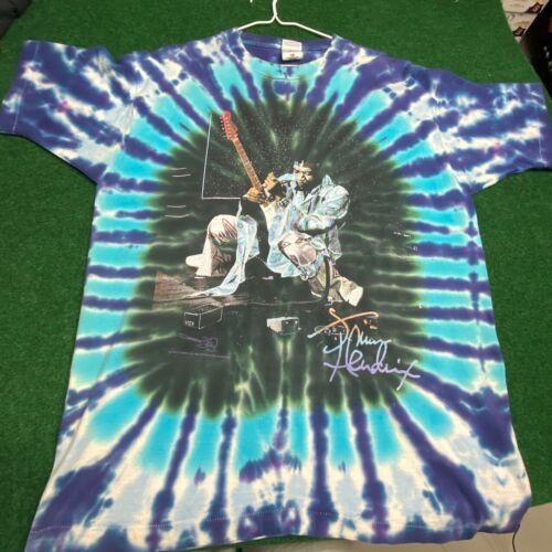 M Vintage Rare Jimi Hendrix Tie Dye Shirt XL Foxy