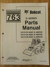 Bobcat 763 763g Skid Steer Parts Manual Book 6900986